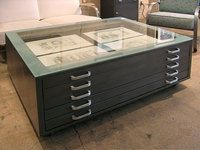 I Love Flat Files. This Is A Great Idea For A Coffee Table