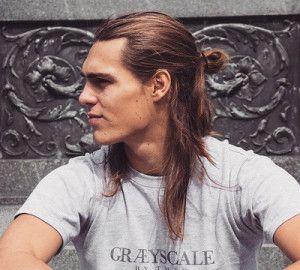 Half Way Up Bun Ponytails Man Bun Hairstyles Long Hair Styles Hair Styles