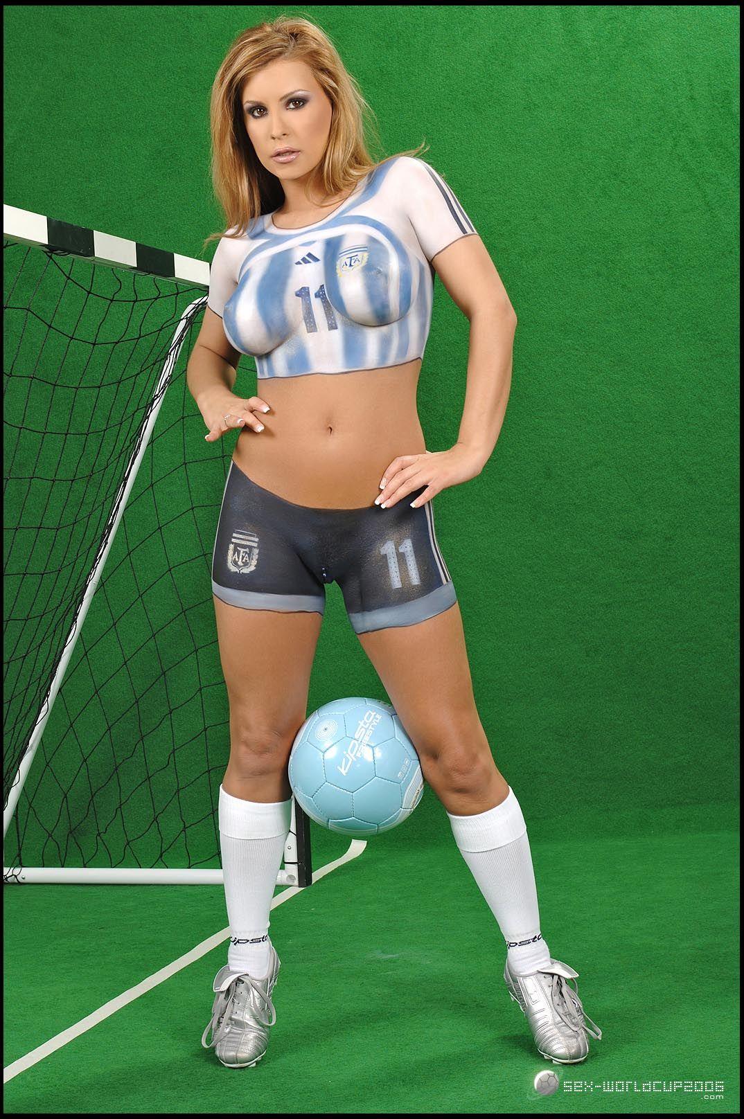 Sports Body Paint Pics : sports, paint, Paint