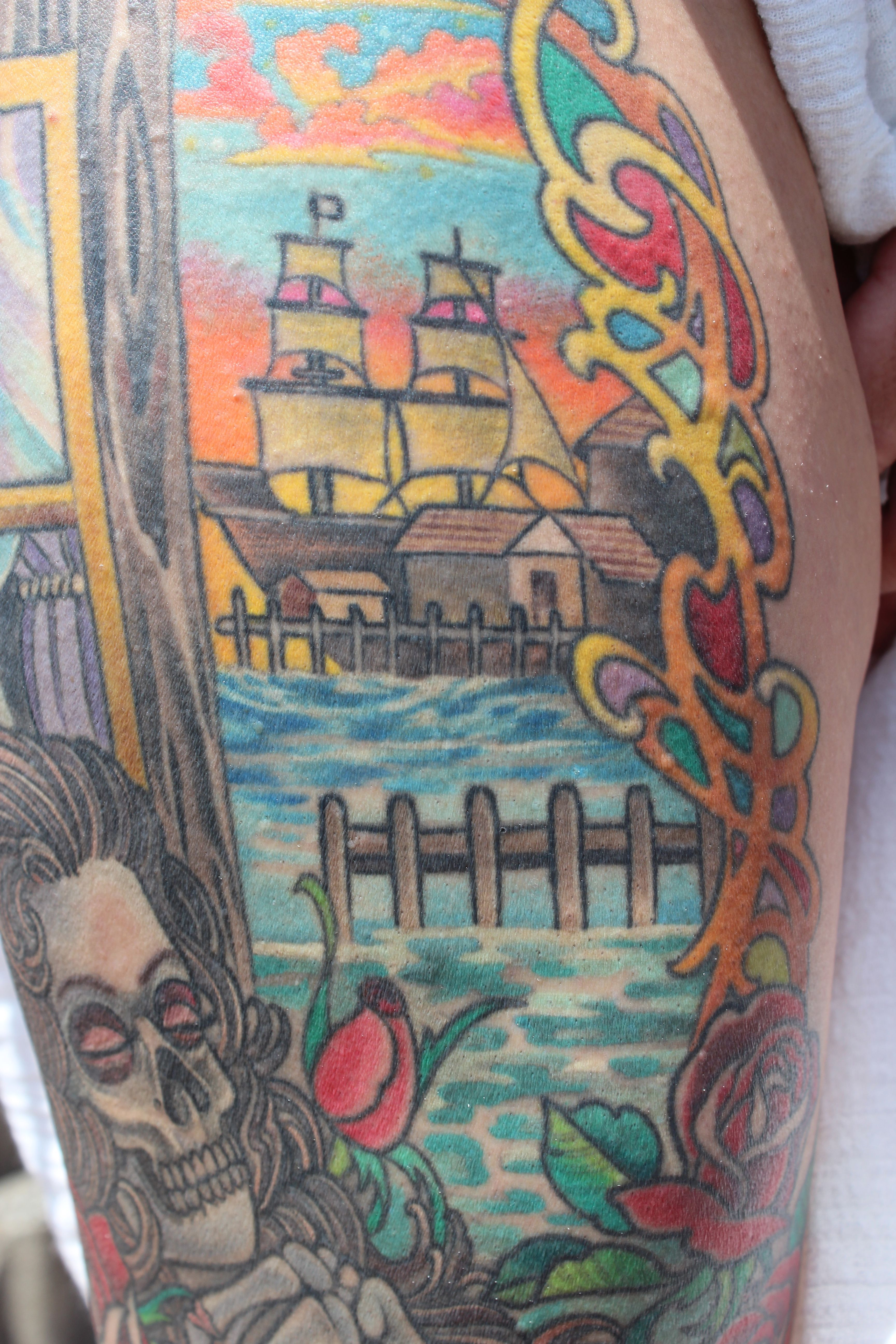 Pin by eye of the tiger tattoo on salems grateful dead