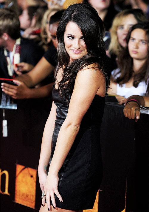 ♕ [10/∞] favorite pictures of Lea Michele