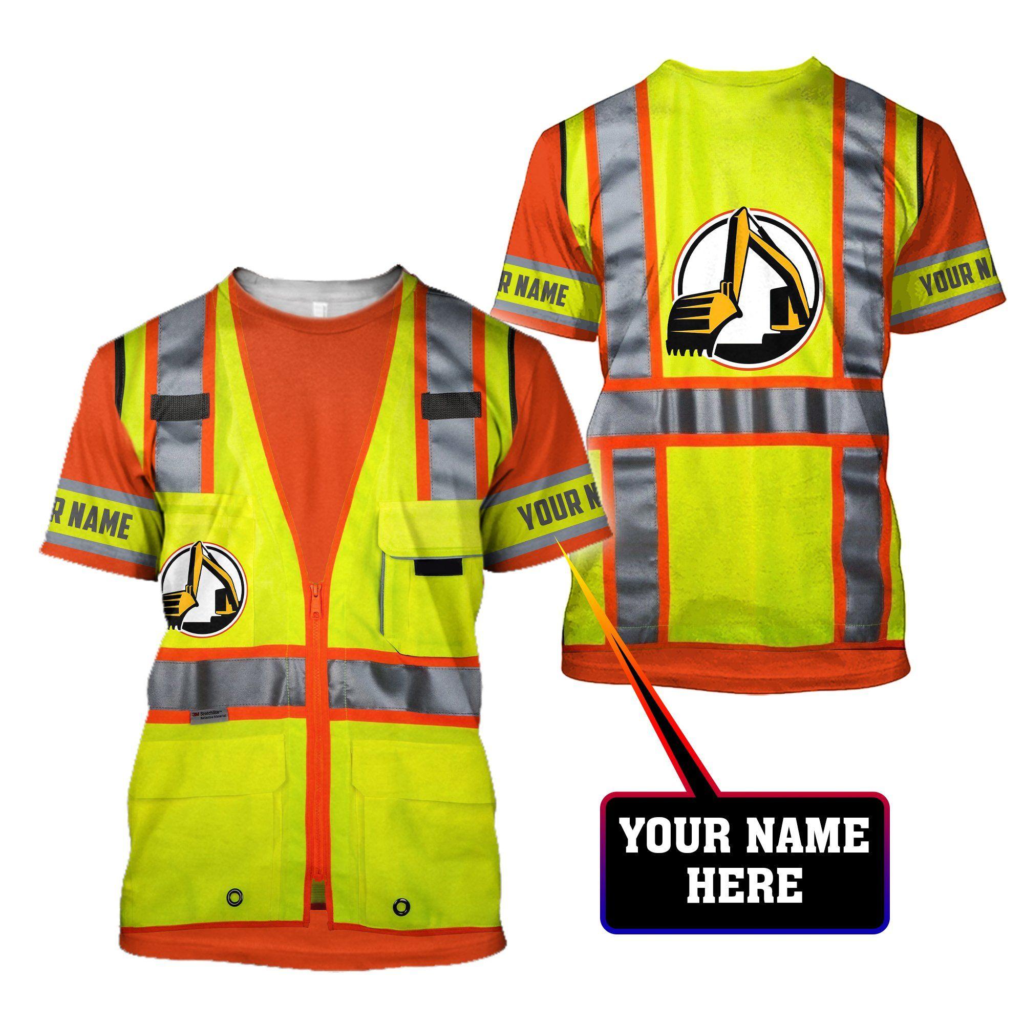 Excavator Shirts Pi23062105 - T-shirt / 3XL