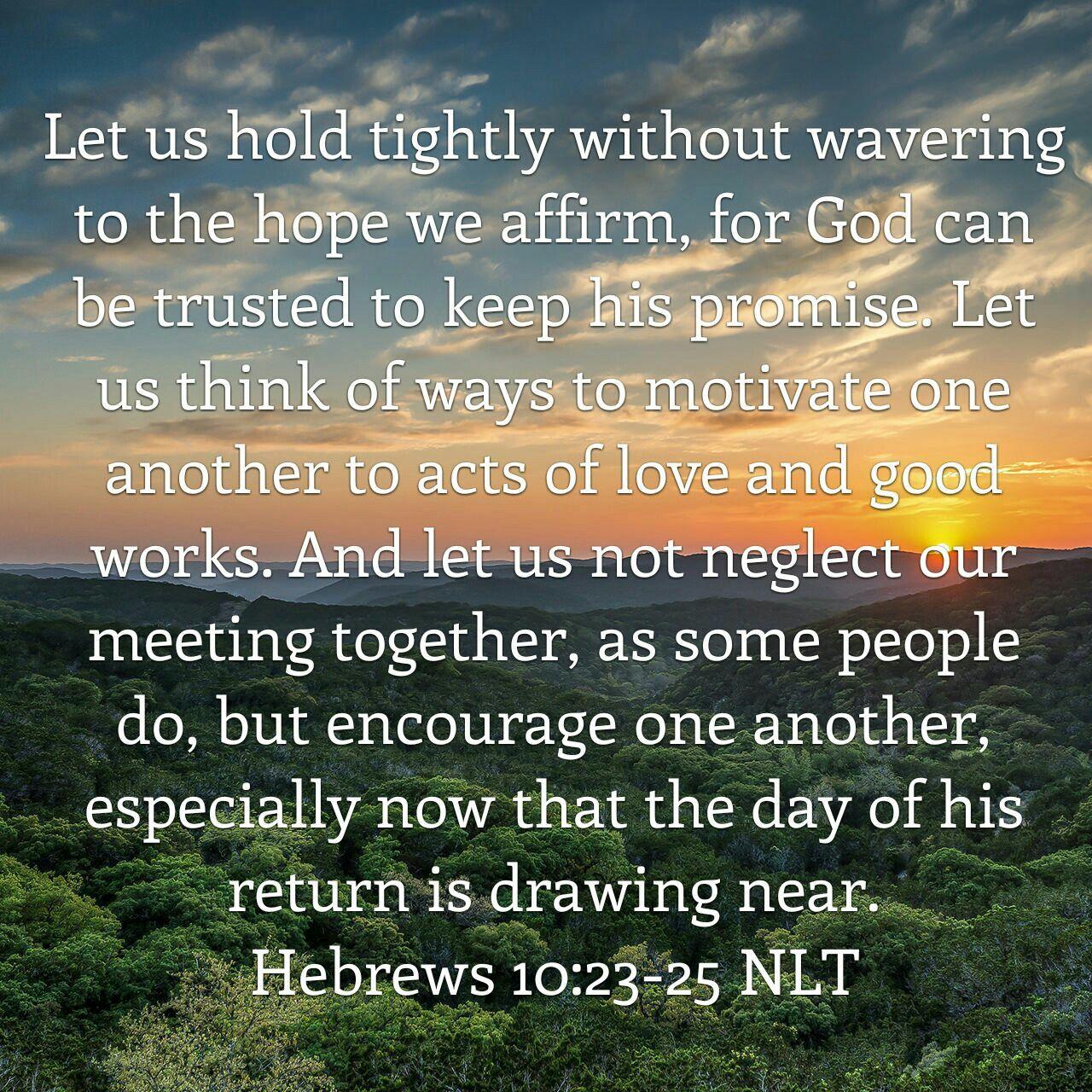 25+ Hebrews 10 23 25 Meaning Pics - FreePix