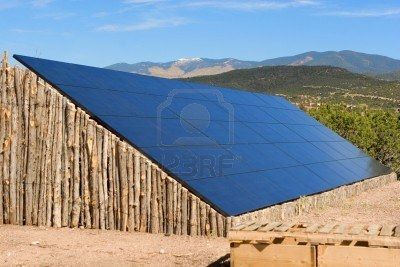 Large Ground Mount Solar Panel Array In A Mountain Backdrop Solar Panels Solar Solar Pannels