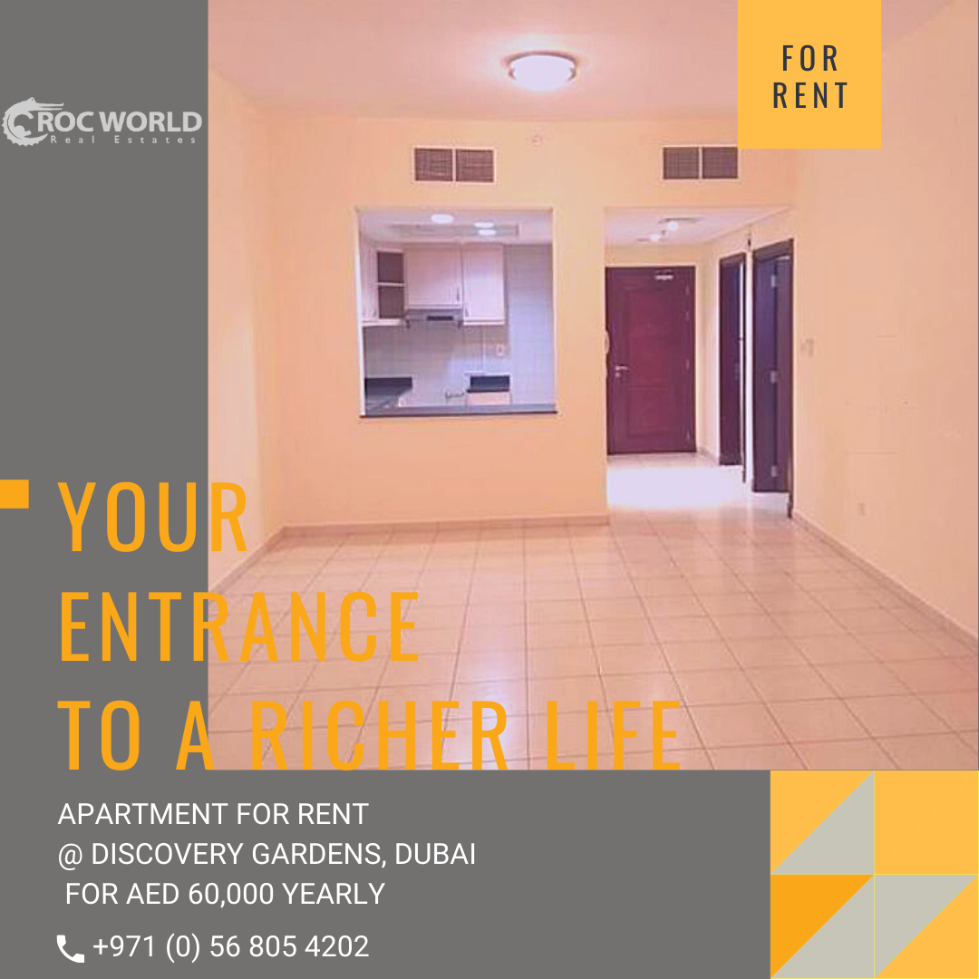 bb17d9f3cbdbcc5fc75f4b5c615edc8b - Apartment For Rent In Discovery Gardens Dubai