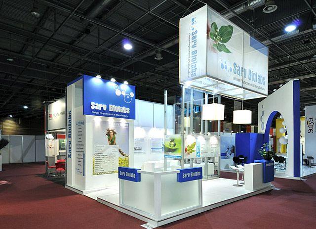 Exhibition Stand Logo : Sarv biolabs pharma healthcare exhibition stand