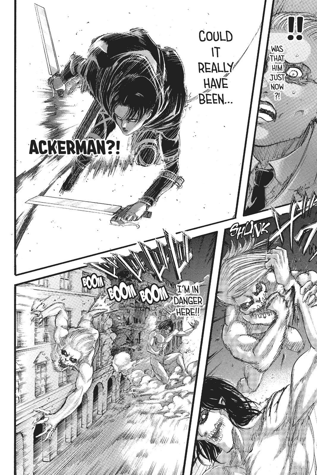 Shingeki no Kyojin Chapter 102 Page 35 Attack on titan