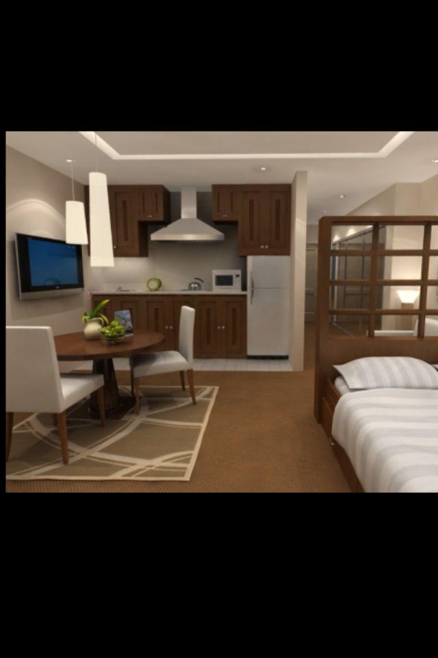 Small apartment ideas casa peque a in 2019 studio - Small couch for studio ...