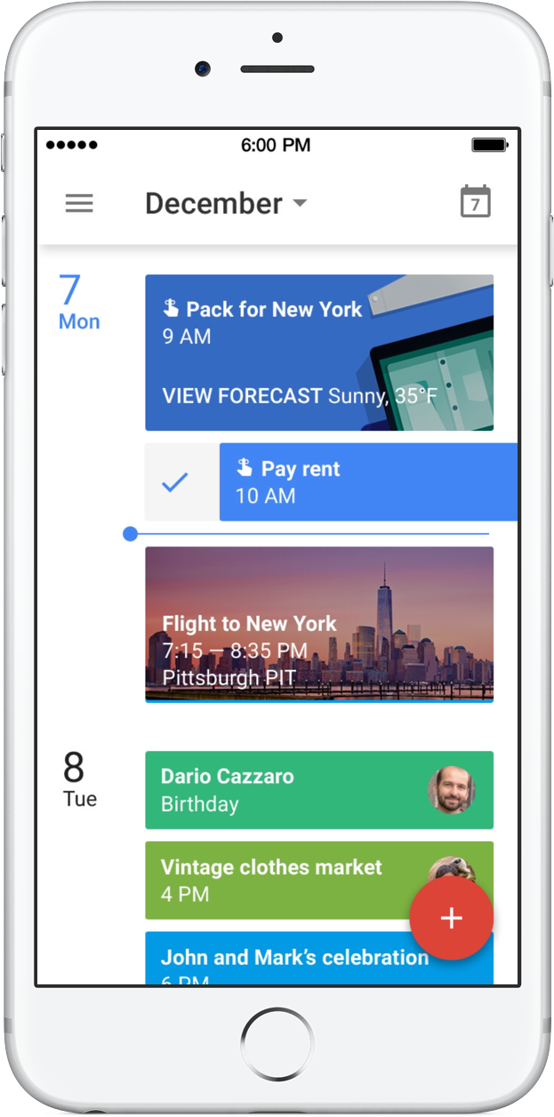 You can now create and manage reminders in Google Calendar