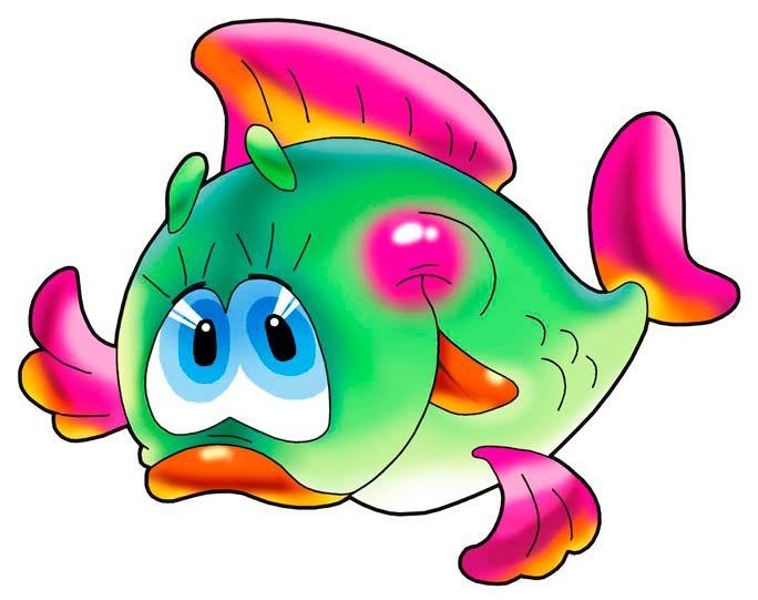 Рисунок с рыбками для детей