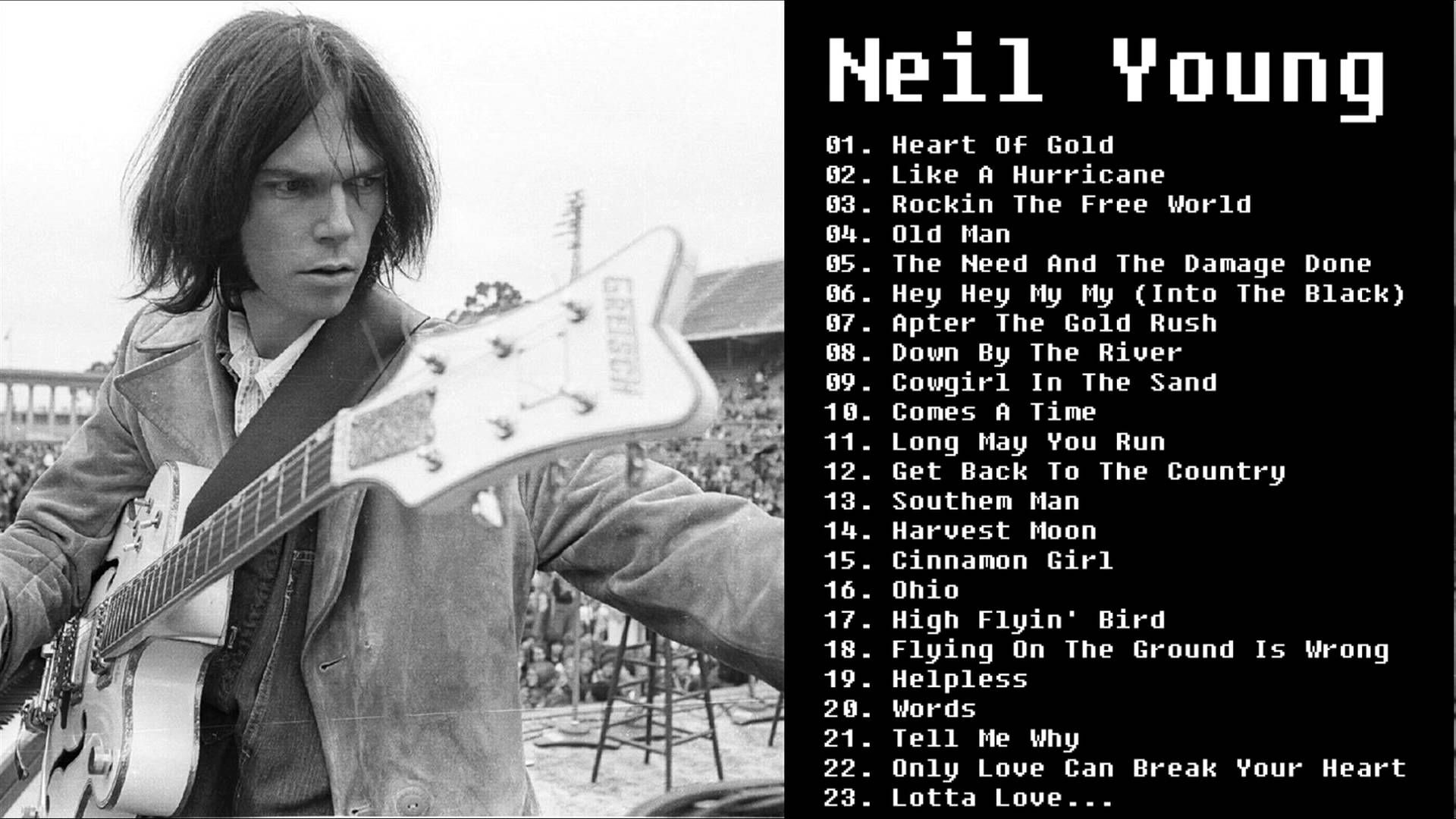 Neil Young Greatest Hits Neil Young Best Songs With Images