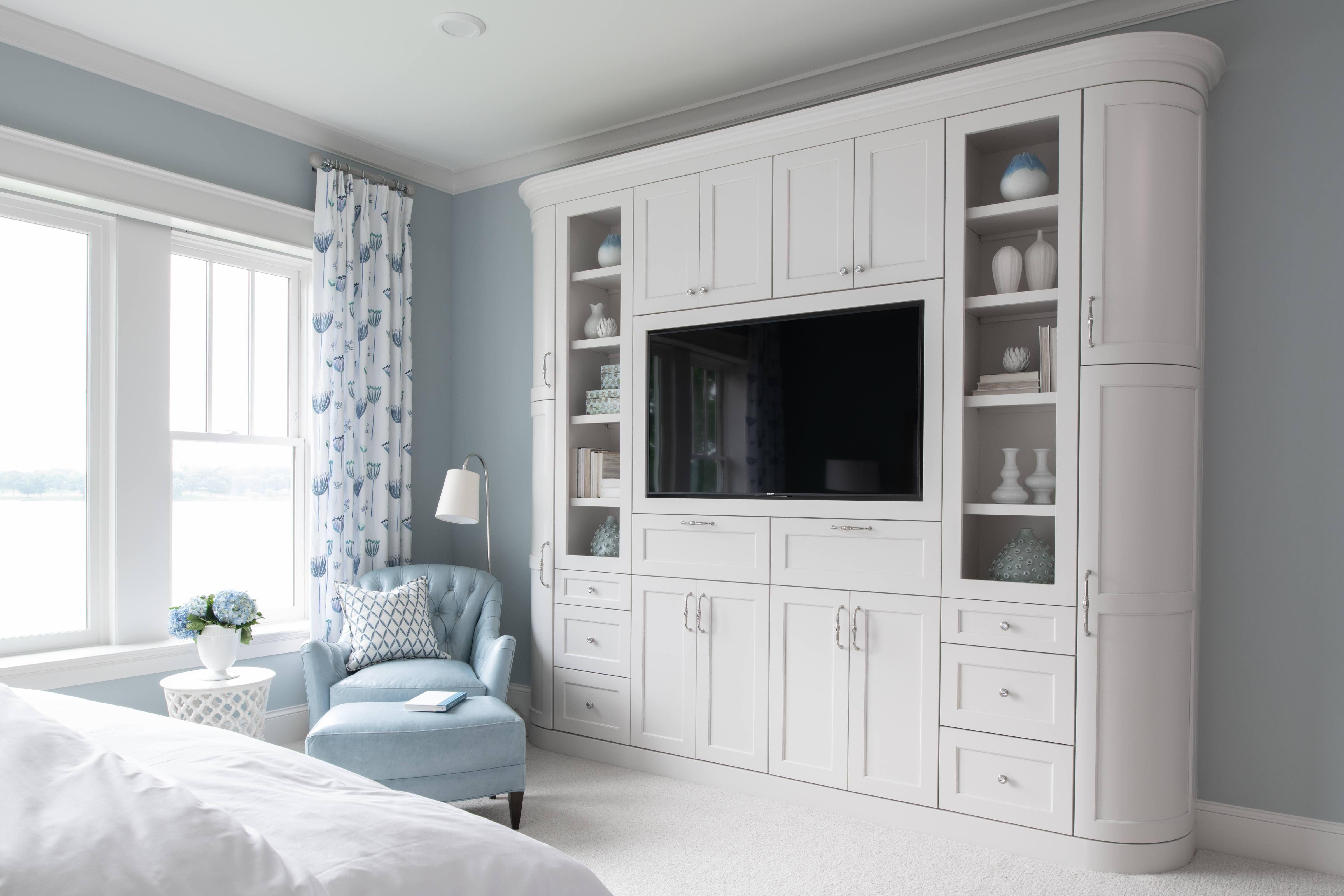 Custom Cabinetry Entertainment Center Bedroomdesign
