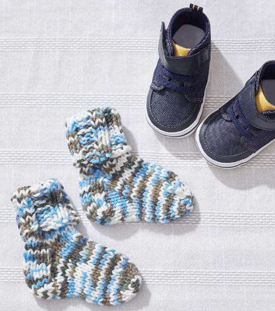 Knit Baby Socks | Baby Stuff | Pinterest | Crochet bebe, Croché y Bebe