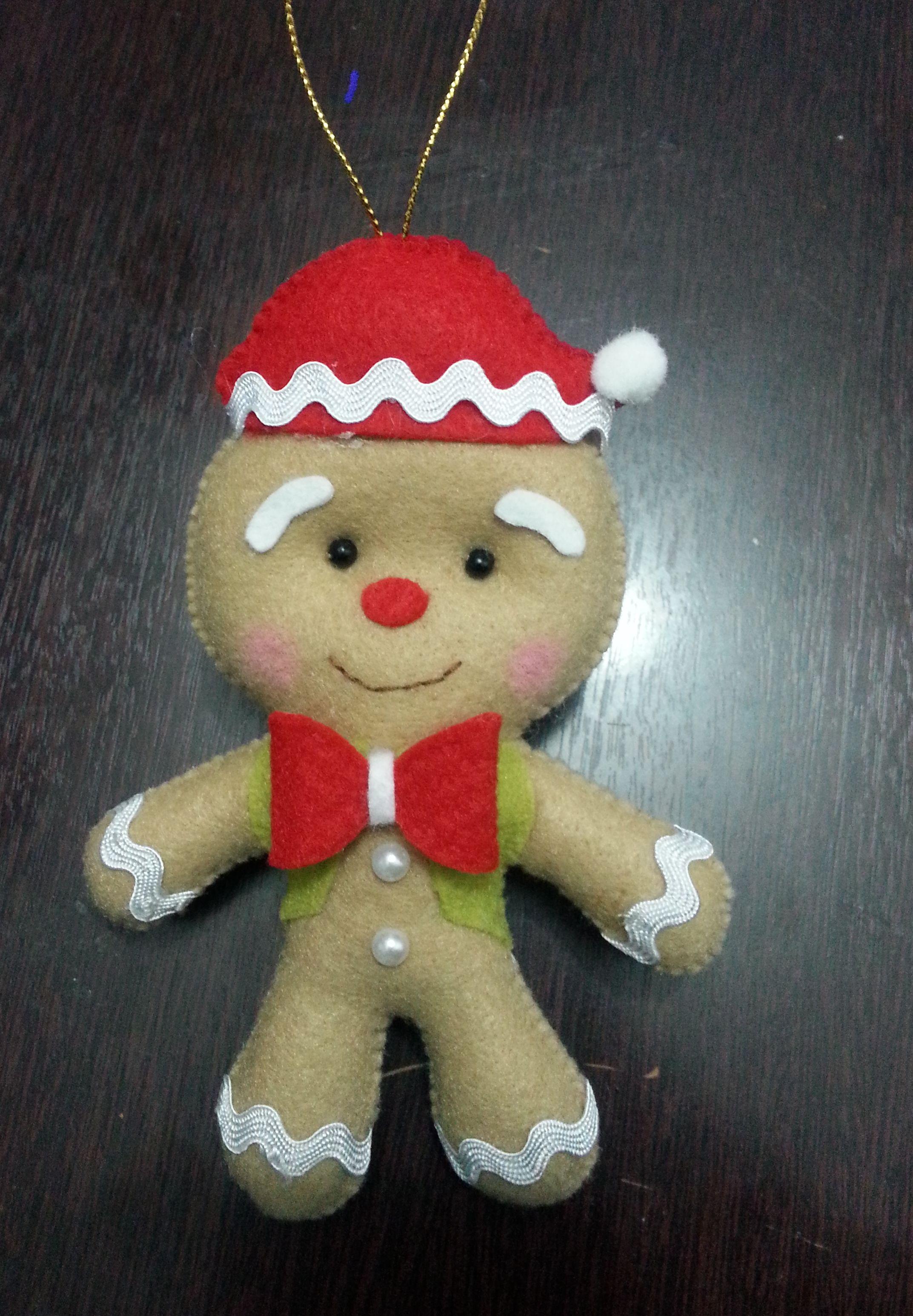 Pingente Natal Gingerbread Pendente Arvore De Natal (2145 3090) - Navide O - Pinterest - Natal,
