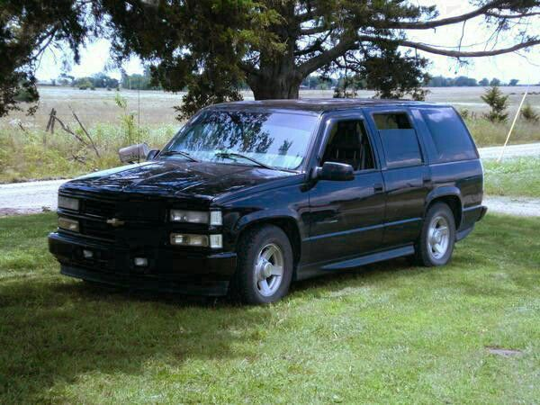 Chevy Tahoe Chevy Tahoe OBS 19952000 t Cars