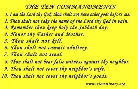 The Ten Commandments Religion Pinterest Ten commandments and - ten resume writing commandments
