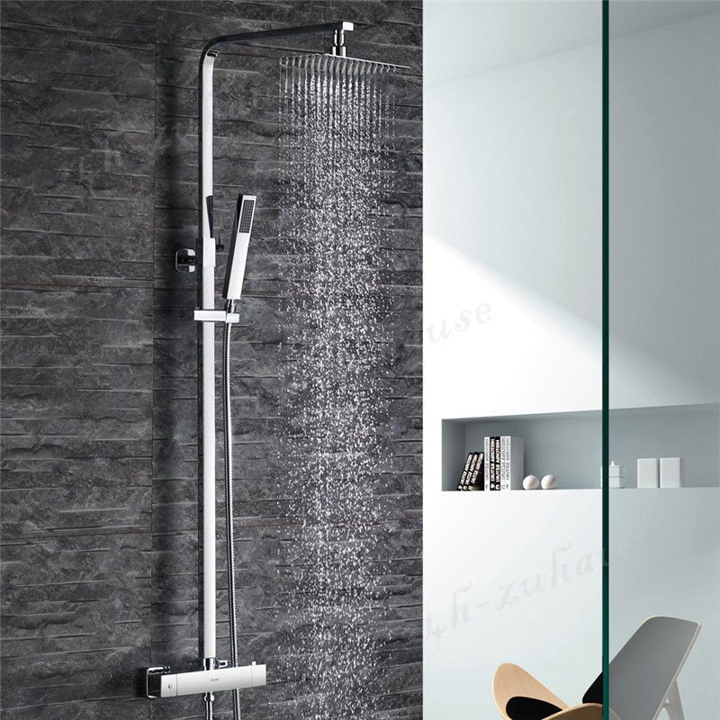 details zu duschpanneel schwarz duschs ule massagedusche duschset duschsystem duscharmatur. Black Bedroom Furniture Sets. Home Design Ideas