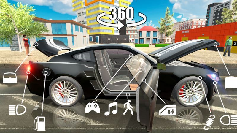 Top 7 Simulator Games For Android Smartphone Car Simulation Buying New Car