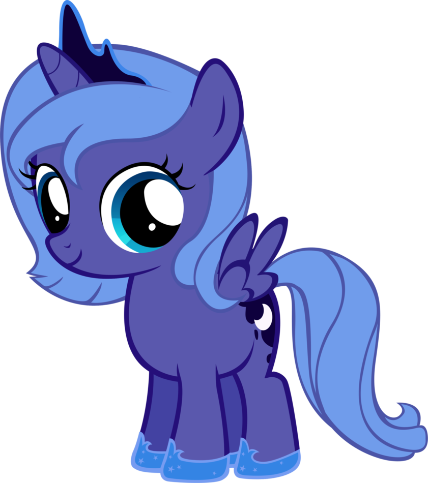 my little pony baby luna  Buscar con Google  Baby Characters