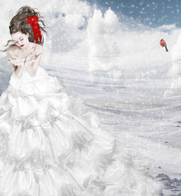 Un sogno bianco by Flore-stock.deviantart.com on @deviantART