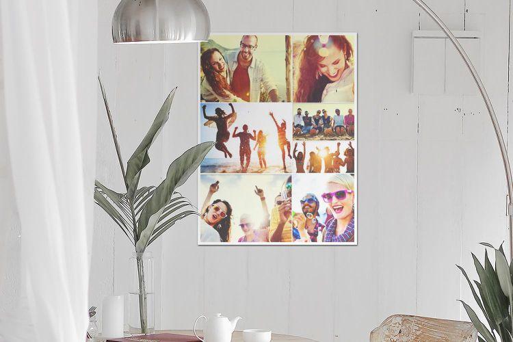 Bilderwand Gestalten Collage Erstellen Ausdrucken Modern Skandinavisch Wohnzimmer Photo Collage Photo Collage Maker Collage Maker Online