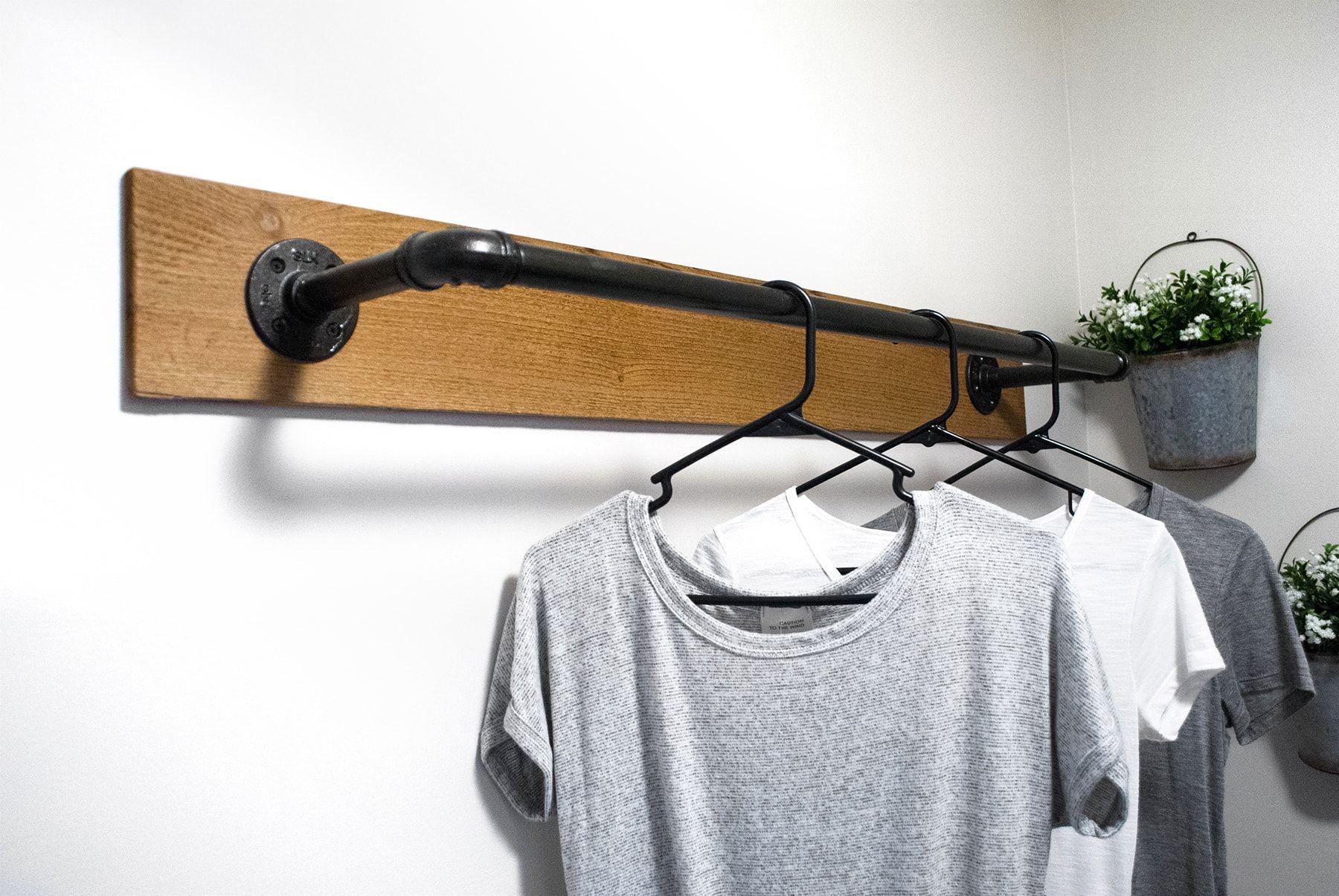 Wall Mounted Clothing Rack With Top Shelf Wall Mounted Clothing Rack Wall Clothing Rack Wall Mounted Drying Rack
