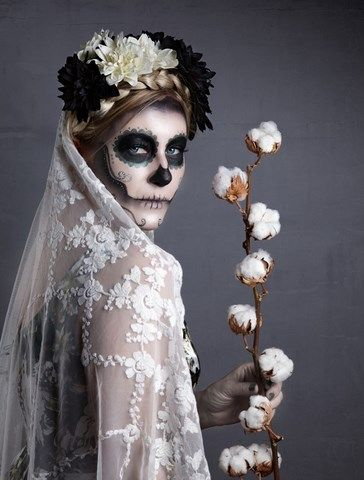 scary valentine baking images | sugar skull makeup scary bride ...