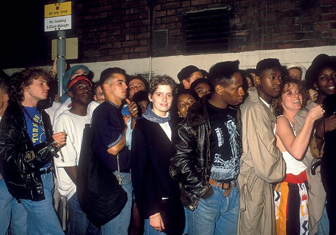 Queue Forming Outside Of The Trip The Astoria London Acid