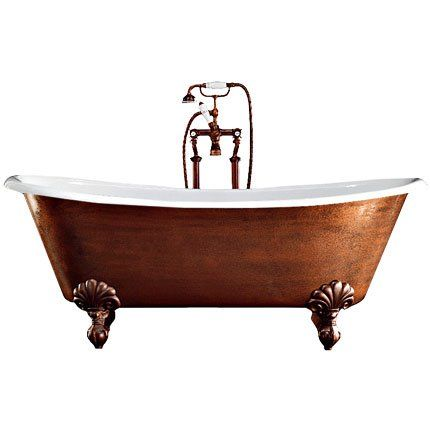Baignoire Admiral Copper Effect Devon Decodesign  Dcoration  Neo
