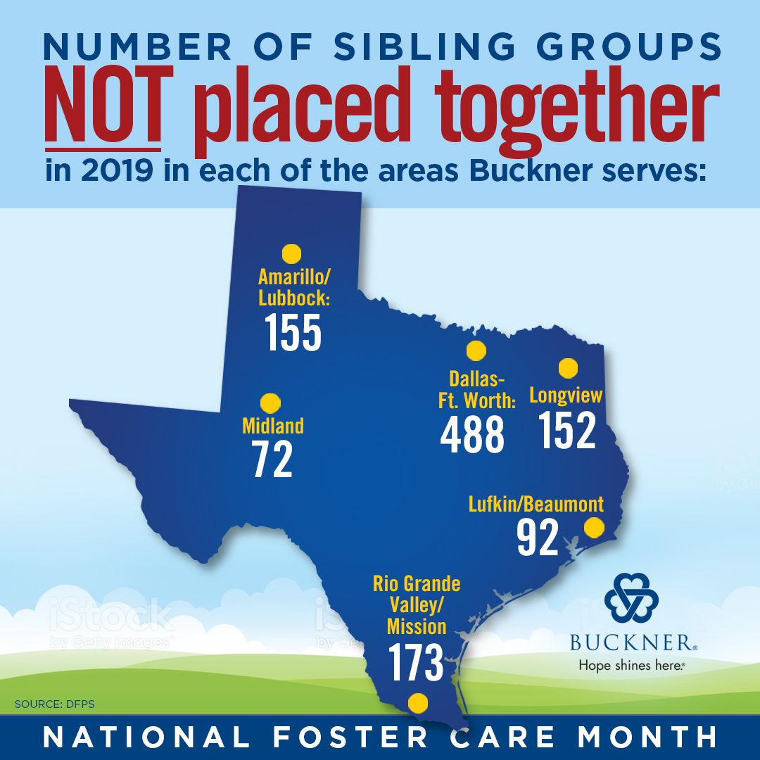 Sibling Groups in Foster Care in 2020 Foster care