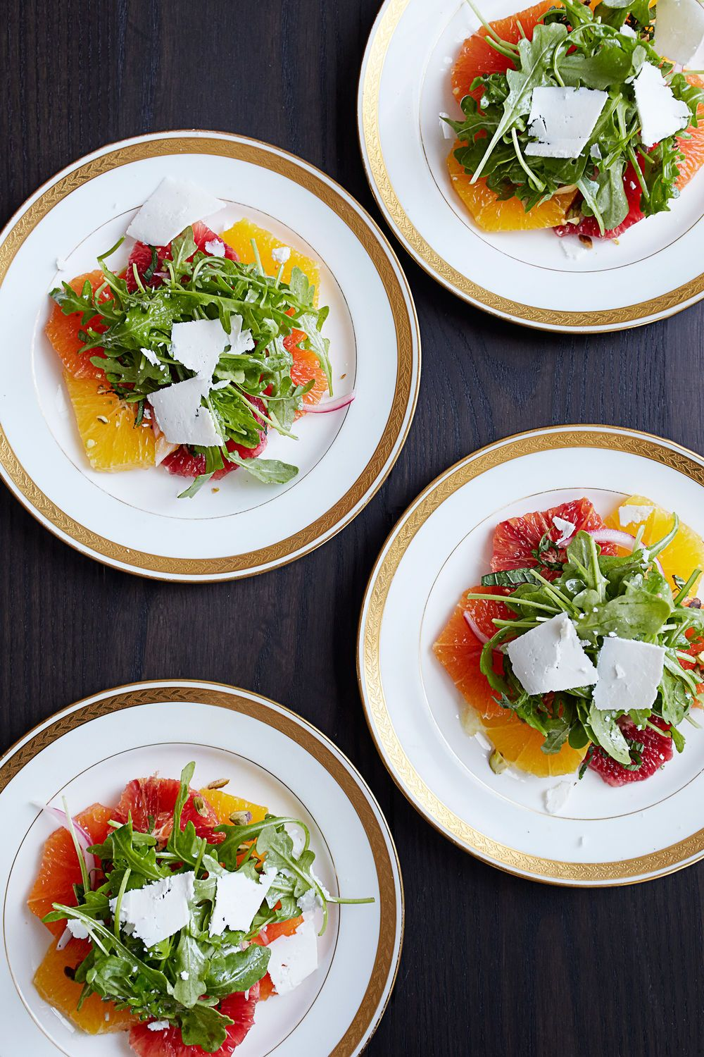 Salad Ideas For Dinner Party Part - 42: This Citrus Salad With Arugula And Ricotta Salata Is The Perfect Starter  Course For A Winter
