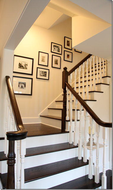 gallery wall for stairs | Gallery / Photo Walls | Pinterest ...