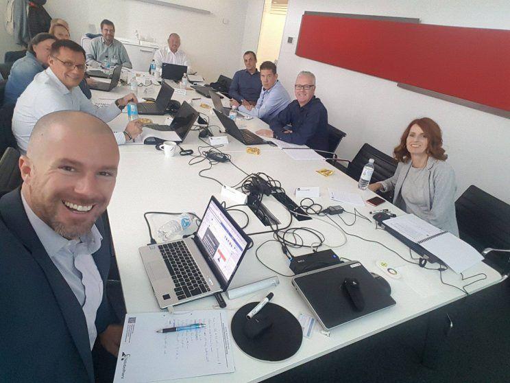 Workshop mit Felix Beilharz bei AXA Versicherung Köln am 11. September 2017