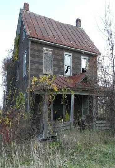 Old Farm House By Myztori Abandoned Farm Houses Old Farm Houses Abandoned Houses