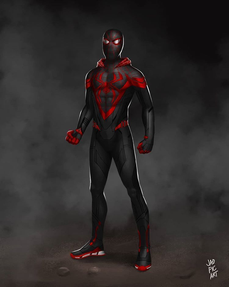 The Life Of A Spider In 2020 Young Avengers Avengers Team Miles Morales Spiderman