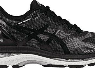 cheap for discount 5284e 164d1 ASICS Women's Gel-Nimbus 19 Running Shoe, Black/Onyx/Silver ...