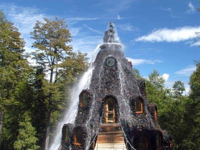 Magic Mountain Hotel, Huilo-Huilo Biological Reserve, Chile