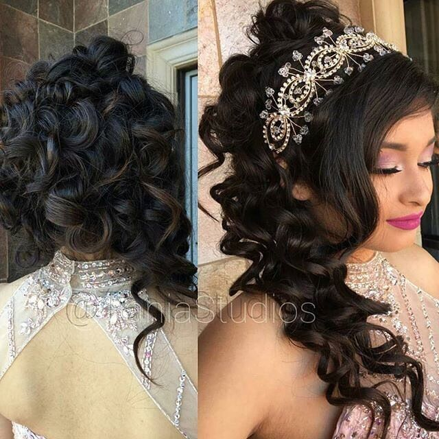 Quinceanera Hairstyles 20 wedding hairstyles with tiara ideas How To Find The Perfect Quinceanera Cake