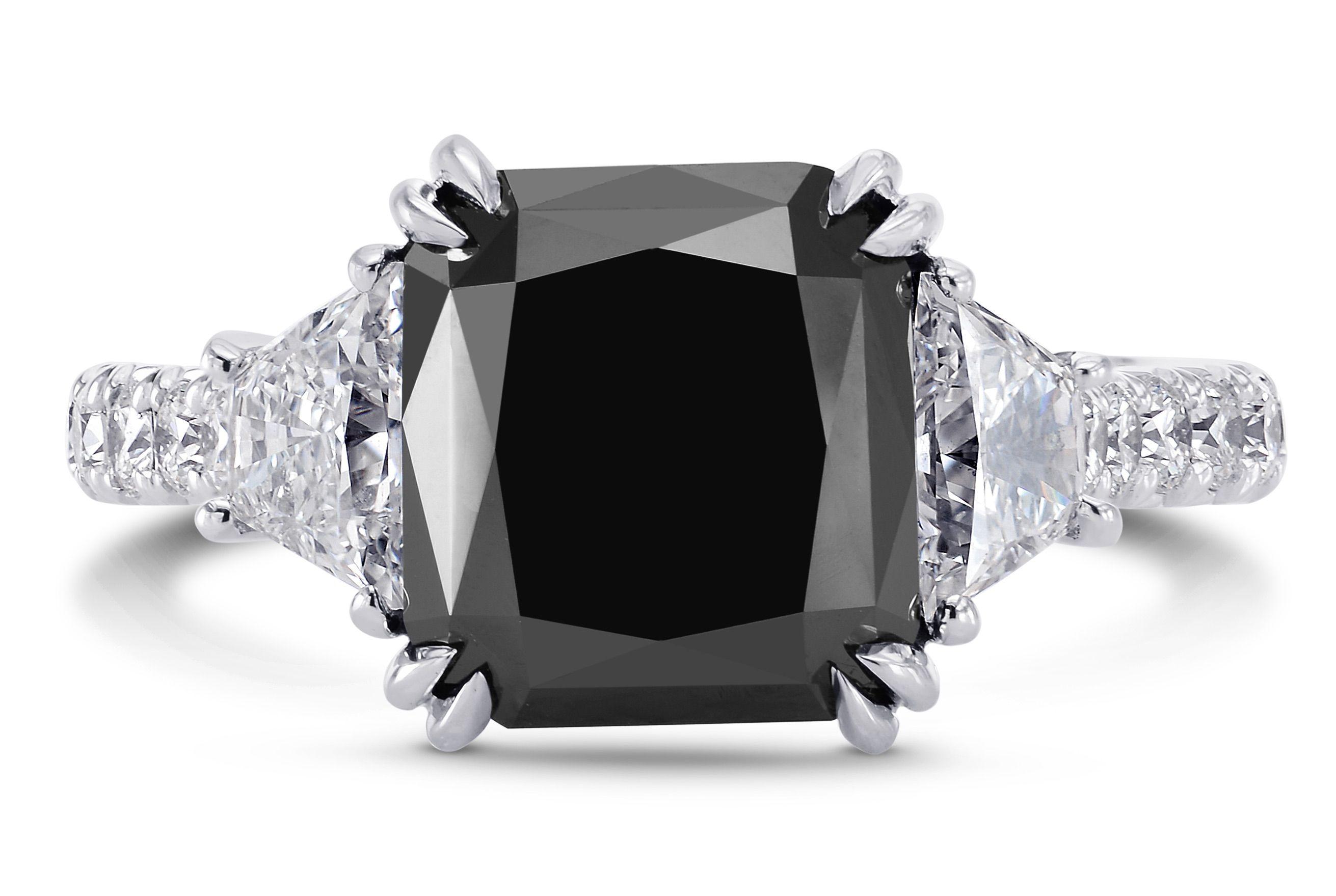 Current Gem Obsession Black Diamonds Black Diamond Ring Engagement Diamond Engagement Rings Black Diamond Jewelry
