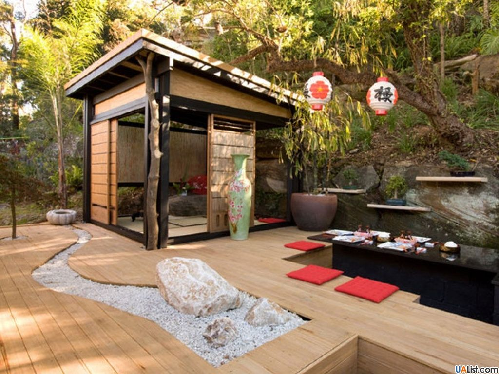 Beautiful Japanese Garden Design, Landscaping Ideas for ...