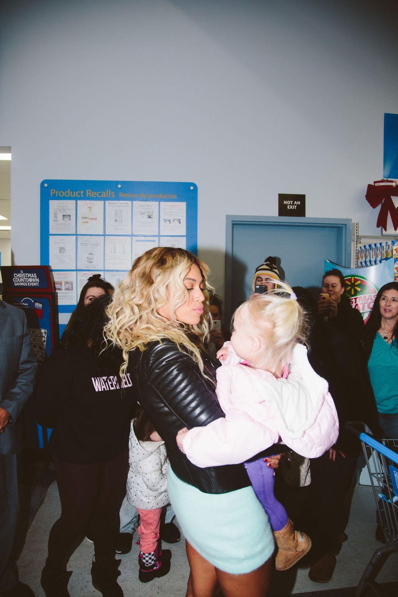 Beyonce:  Walmart;Boston December 2013