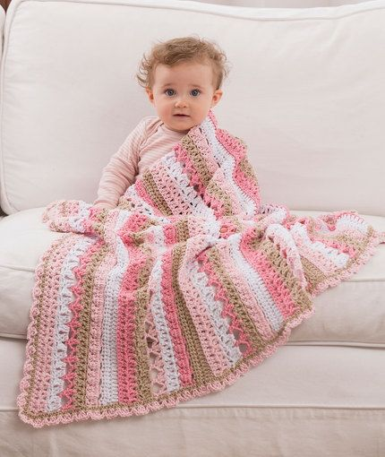 10 Free Crochet Baby Blanket Patterns | Blanket, Free crochet and ...