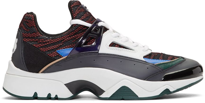 d922a592ffc Kenzo - Baskets multicolores Sonic