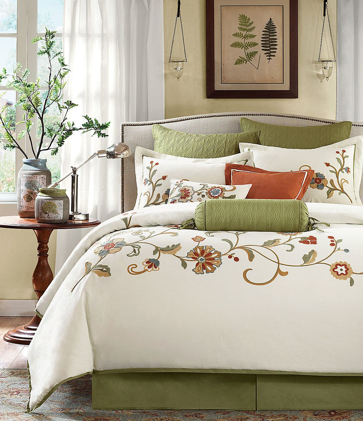 32 Stunning Luxury Master Bedroom Designs Photo Collection: Harbor House Madeline Bedding Collection