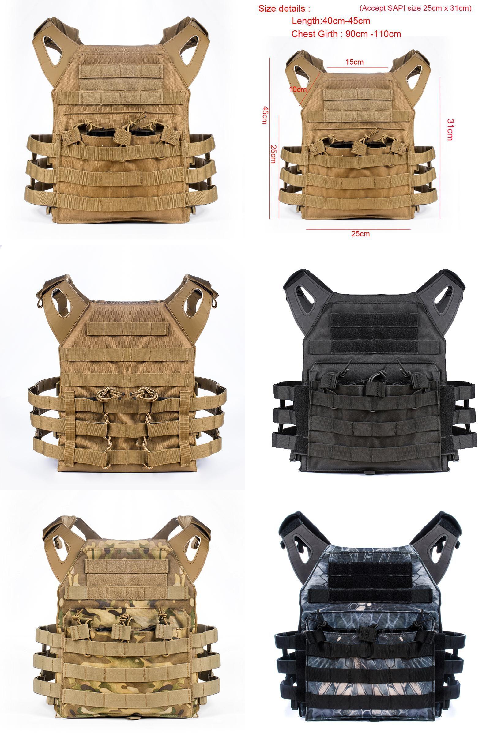 Military Armor Tactical JPC Vests Combat Army Vest Plate Carrier Men Vests USA