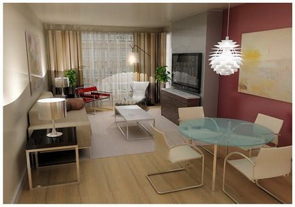 Ideas para un peque o living parte i living comedor for Como decorar un living comedor rectangular grande