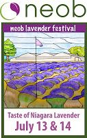 2013 Lavender Festival advertising! New for 2014...