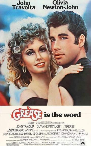 Grease (1978) | Películas musicales, Carteles de cine, Carteleras ...