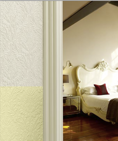 Paintable Textured Wallpaper How and Where to Use It