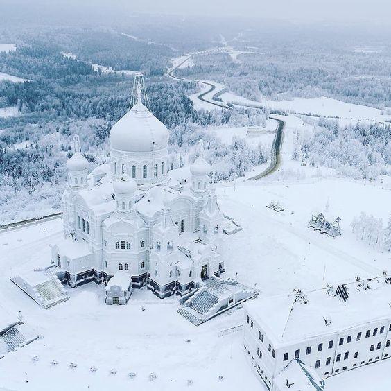 Белогорский Николаевский монастырь Белая гора, Пермский ...